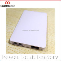 PP101 rechargeable battery for smartphone new products 2016 power bank mobile phone charger 4000mah thin