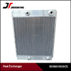 Customized aluminum plate bar rotary compressor air oil cooler manufacturer from Wuxi