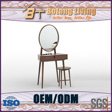 Factory price dressing table mirror with led lights