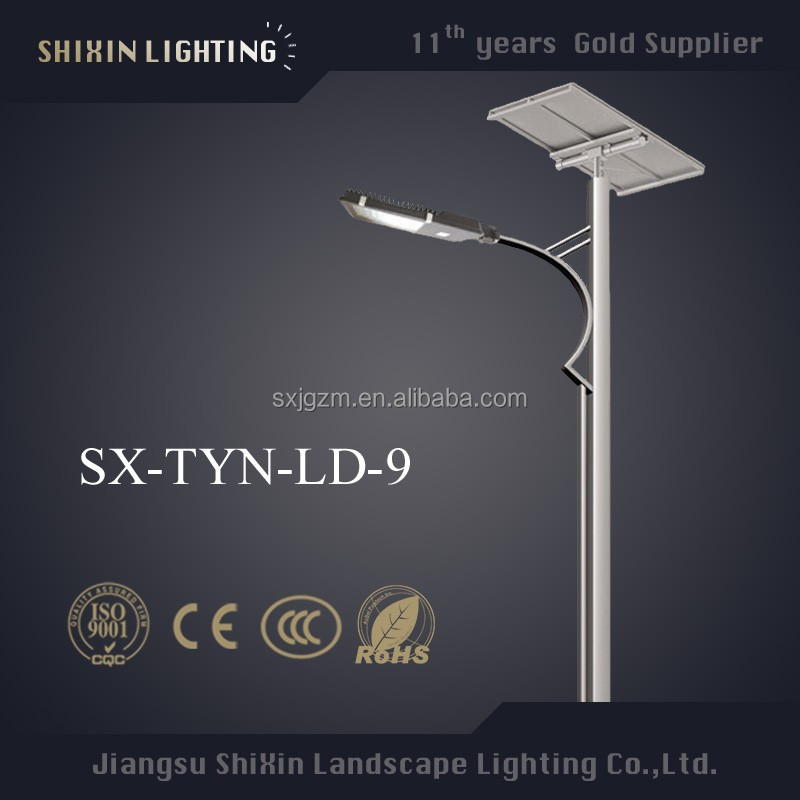 China newest hot sale street solar led light and solar power panel manufacturer