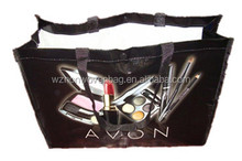 Custom PP woven Material and Hand Length Handle Sealing & Handle shopping pp non woven bag