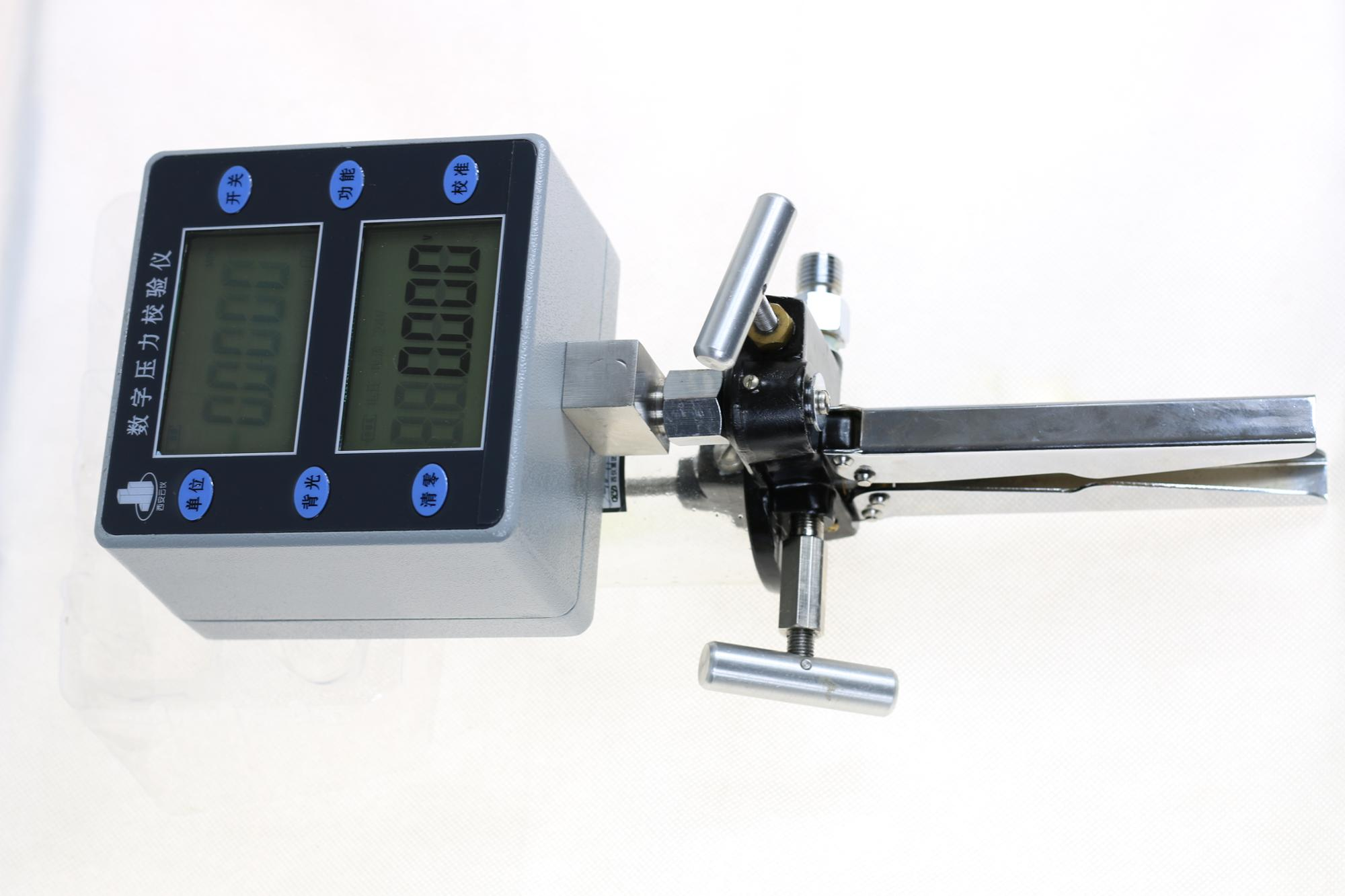 Digital portable hand pressure transmitter calibration