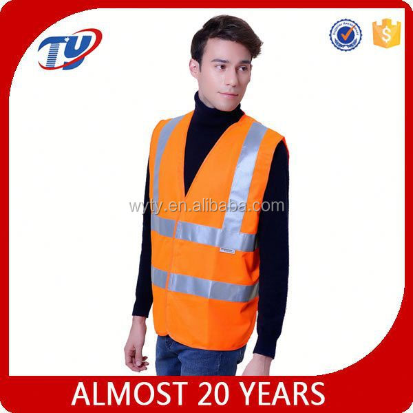 high quality raincoat safety vest reflective vest