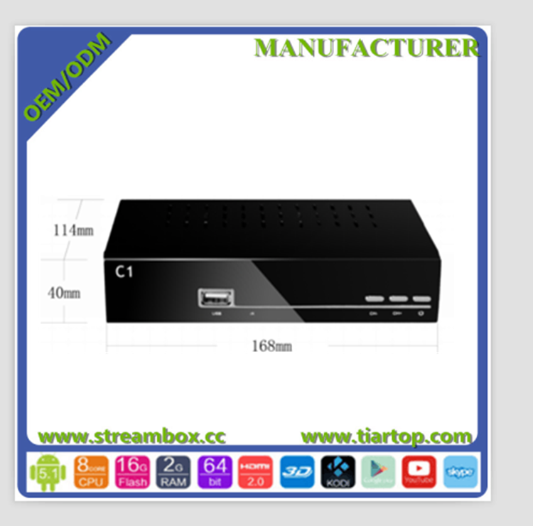 IKS Linux DVB-C 2016 hotselling free to air Full HD PTV All channel Mpeg4 HD Receiver Box TV