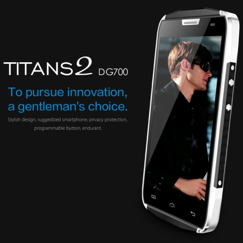 latest 5g mobile phone DOOGEE TITANS2 DG700 8GB, Network: 3G
