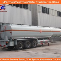 Tri Axle White Product Transport Truck