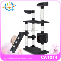 2016 wholesale pet products, cat trees,house for cats with fashion designs