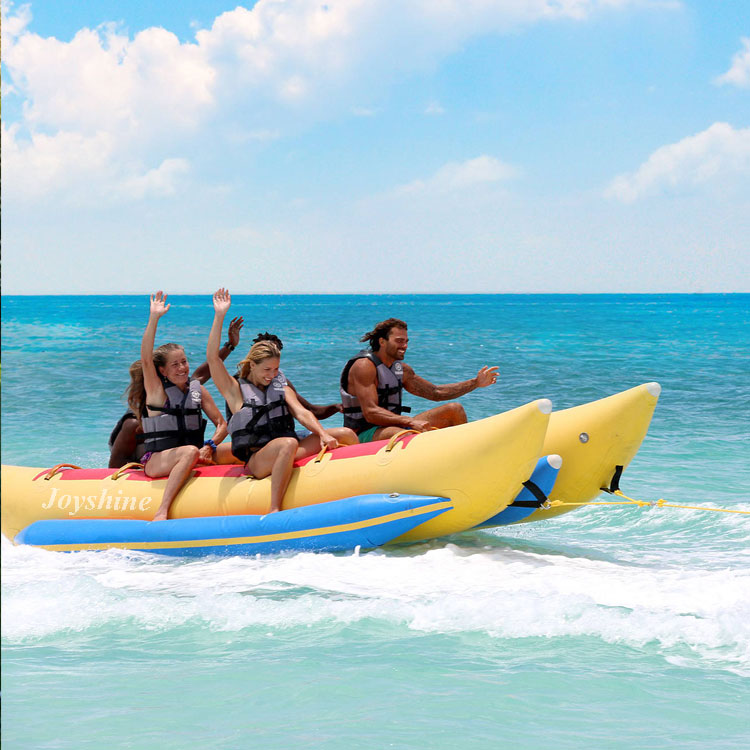 Inflatable flying fish water sports inflatable fly banana boat for sale