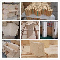 refractories fire clay bricks for steel plant