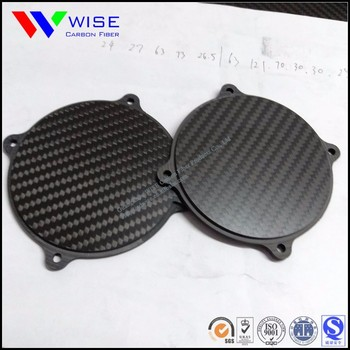 extra plainess professional CNC carbon fiber cutting, carbon fiber parts,components