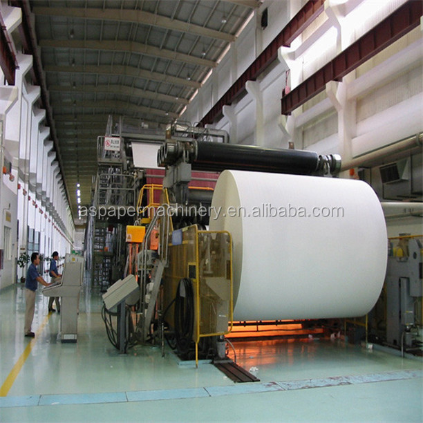 paper manufacturing machinery - news printing paper making machine price