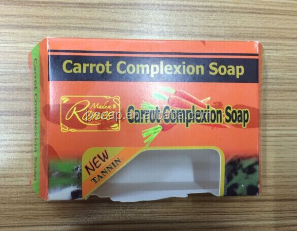 New design-Carrot Complexion soap