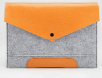 Shatter-resistant polyester felt bag for tablet PC