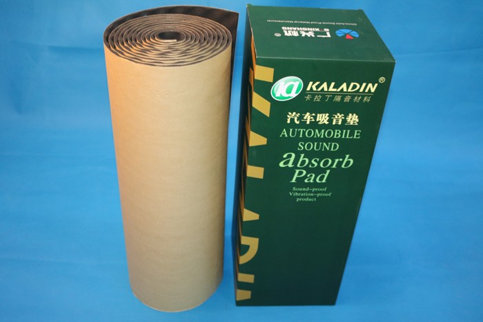 High temperature resistant heat insulation car soundproofing