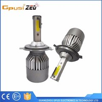 New Internal Driver H4 Led Headlight Super Bright 40w 4800lm car led auto bulb Replace Xenon Hid Kits