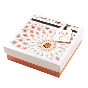 Paper Print Gift Pencil Box With White Blister