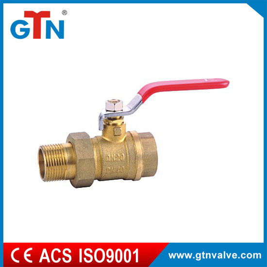 Factory brass valves dn20 wholesale forged long handle ART226V-A thread ball valve