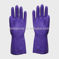 2013 New products pvc work long garden glove wholesale