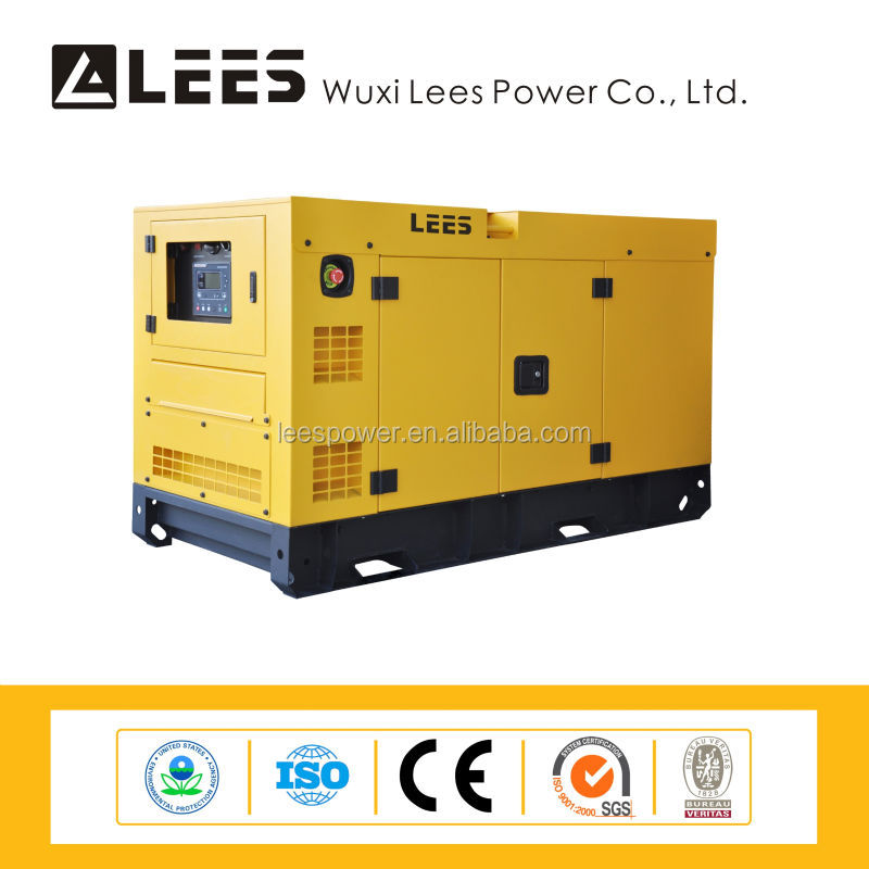 19kva genset with canopy super silent type diesel generator set