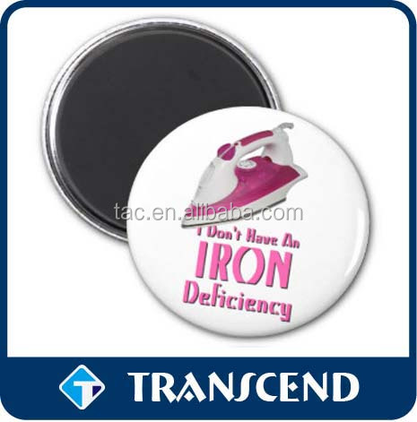 metal magnet button as Advertising Magnet suitable for corporate gifts