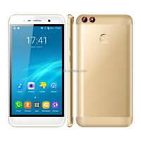 0 5 Inch Touch Screen Metal Cover Quad Core Fingerprint 3G Celulares Android