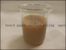 Cationic Board paper styrene acrylic surface Sizing Agent 30%for corrugated kraft Paper Mills hot selling in India