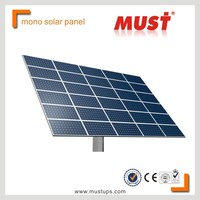 MUST Poly PV panel/high efficiency poly crystalline 250w solar panel system