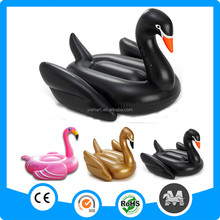 Wholesale eco-friendly PVC inflatable giant water floating inflatable swan