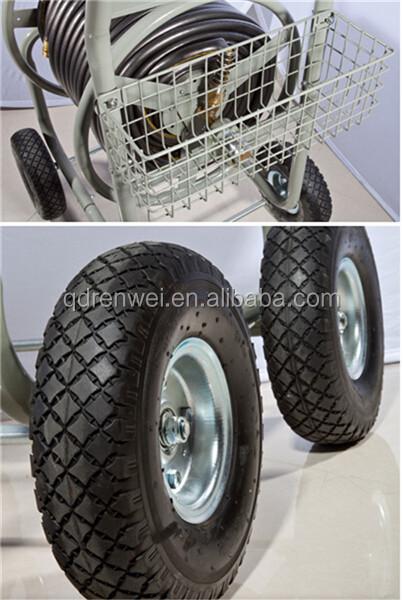 Hose Reel Cart Water Hose Reel Cart Buy Metal Four Wheel Garden Hose Reel Cart Used Garden
