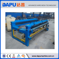High quality animal fence hexagonal weaving wire machine
