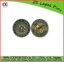 Free artwork design custom quality 302nd Military Intelligence Service Company Challenge Coin