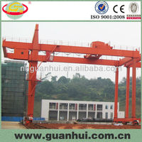 professional electric double girder gantry crane specification