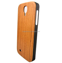 Natural real cherry wood case for Samsung galaxy S4, for samsung S4 wood case