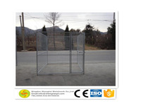 Welded wire mesh fences outdoor dog cage for wholesale