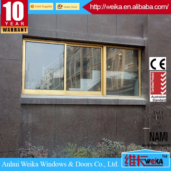 2017 latest design thermal break aluminium sliding window