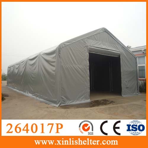 264017P Tarpaulin cover machinery workshop galvanized canopy