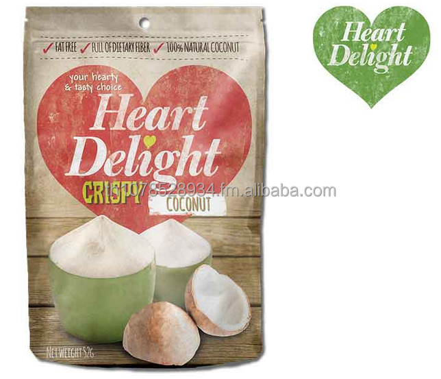 Heart Delight Topical Coconut Chips