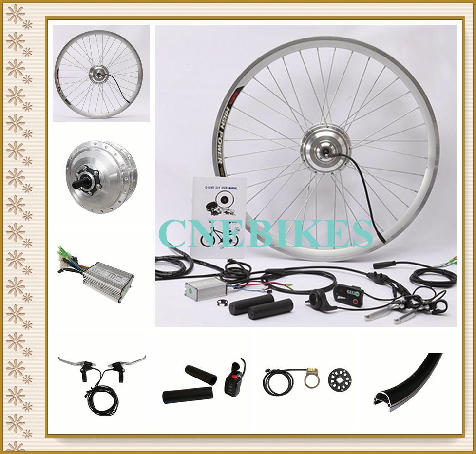 electric bike conversion kit / cheap city e-bike conversion kit / electric bike parts