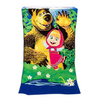Wholesale promotional low price the royal standard print microfiber beach towel
