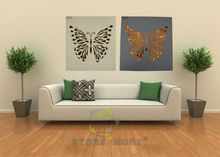 MDF Hollowed Out Butterfly Led Lighted Wall Art Home Decoration Painting