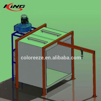PCB-28001 Process and Batch Powder Coating Spray Booths