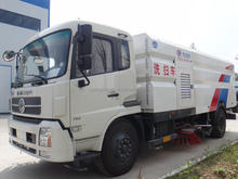 China sweeper Dongfeng 4X2 190HP road washing and sweeping truck for sale