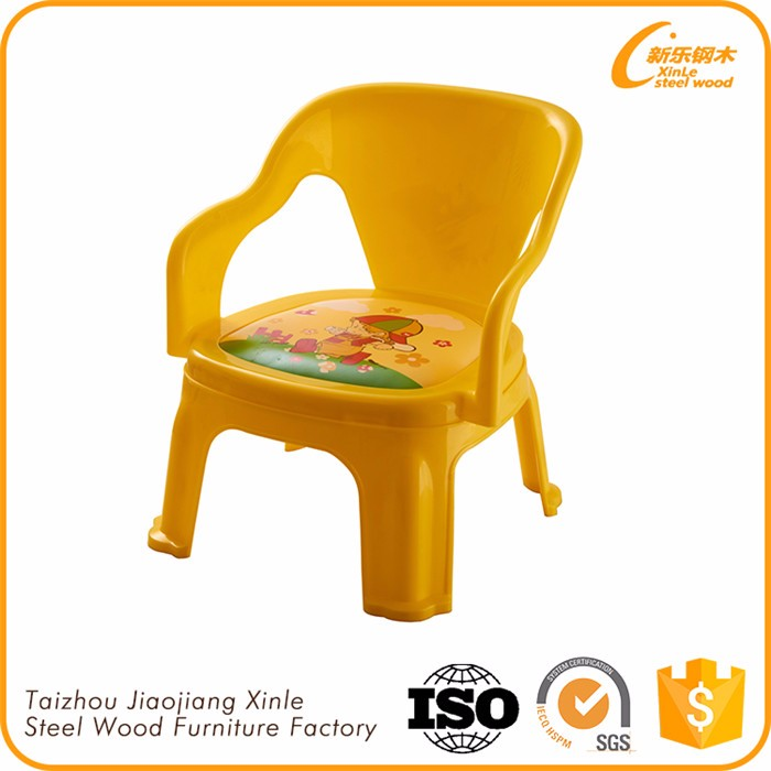 New Products 2016 Plastic Bright Colored Chairs