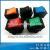 Top quality DPDT 4/6pins rocker switches rittal panel