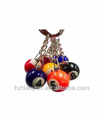 custom billiard balls/mini snooker balls
