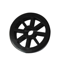 Rigid material flywheel plastic pulley for air compressor