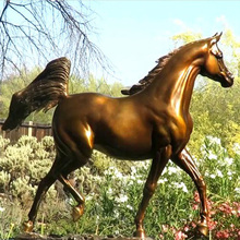 Life Size Large Abstract Animal Horse Sculptures