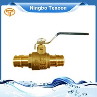 Factory Direct Sales All Kinds of F1960 ball valves Lead free Brass