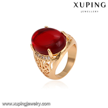 14768 Fashion jewelry royal ring with zircon 18k gold finger ring rings design for men with price