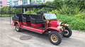 Luxury AC Motor 11 person tourist golf carts made in china